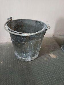 Quality ~Original ~Vintage Galvanised Bucket ~Ideal Planter ~VGC