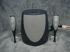New ListingHarmon Kardon Smartphone Laptop Pc Surround Sound Speakers w Sub Woofer Hk695-01