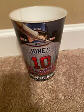 Atlanta Braves Chipper Jones Coca Cola 2012 MLB Souvenir Game Cups