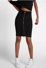 Women's Nike Lab Essentials Full Zip Skirt 848382-010 SZ S  NEW!!!