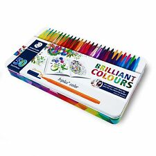 Staedtler Triplus Color Pens - Johanna Basford Edition Tin of 50 Colours - 1.0mm
