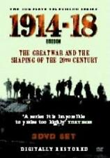 THE GREAT WAR AND THE SHAPING OF THE 20TH CENTURY 1914 - 1918 DVD BOX SET 3 DISC