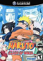 Naruto: Clash of Ninja (Nintendo GameCube, 2006) COMPLETE