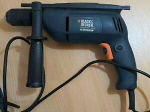 Black & Decker Keyless Hammer Drill KD355CRE 600W variable speed / reversible