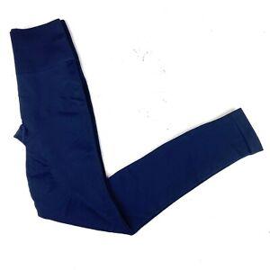 Lululemon Leggings Womens Size 6 Blue Stretch Pants Full Length Recent Exc