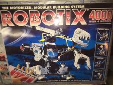 New ListingVintage Robotix 4000 with 4 Motors learning Building Set