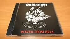 Onslaught - Power From Hell(1985)CD