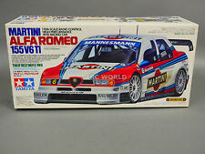 Vintage TAMIYA 1/10 ALFA ROMEO 155 V6 TI MARTINI Racing #58189