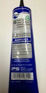 SCIGRIP Weld-On #16 Acrylic Glue tube Perspex Glue Acrylics Plastic polycarb