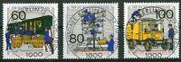 Berlin 876 - 878 gestempelt zentrischer Vollstempel Berlin ESST Ersttagsstempel