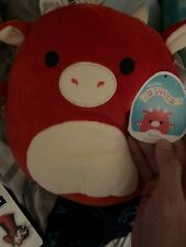 Squishmallow Plush Kellytoy Red Dragon Nadine NWT