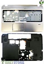 New HP Envy Pavilion M6 M6-1000 Bottom Case Cover & Palmrest Upper Case Combo US