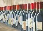 Splendid Reds - Wine Bottles Lined Up by Marco Fabiano 36x24 Art Print Poster