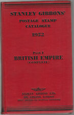 British Empire Complete, 1952 Stanley Gibbons' Postage Stamp Catalogue, Part 1