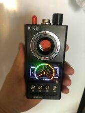 RF Signal Anti-spy Detector Camera sweeper GSM Audio Bug Finder GPS Scan