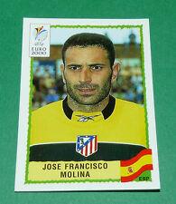N°209 JOSE FRANCISCO MOLINA SPAIN ESPAÑA ESPAGNE PANINI FOOTBALL UEFA EURO 2000