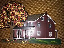 Amish Farmhouse Lancaster County Pennsylvania Sheila House 1997 Shelf Sitter