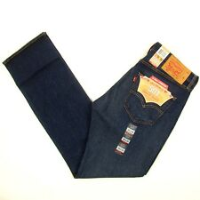 Levis 501 Jeans Original  New Mens Size 33 x 34 DARK BLUE WITH STRETCH Levi's