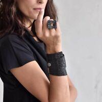 Riss Lederarmbänder Frauen Modeschmuck Vintage Armreifen Armband Punk Stil Damen