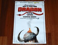 ORIGINAL MOVIE POSTER HOW TO TRAIN YOUR DRAGON 2010 UNFOLDED INTL DS TEASER ONE