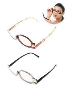 Schminkbrille, Schminkhilfe, Make up, Glas umklappbar- Dioptrien (+1 bis+4) EST
