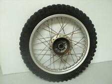 Kawasaki KS125 KS 125 #5167 Aluminum Rear Wheel & Tire