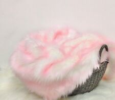 "Faux Fur Frosted Baby Pink photo props 18""x20"" Newborn photography's."