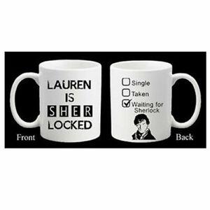Personalised Sherlock Moriarty Mind Palace Mug Birthday Geek Gift Cumberbatch