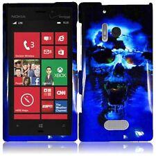 For Nokia Lumia 928 Design - Blue Skull