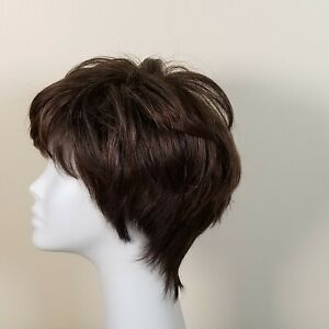 Noriko By Aderans Wig Madison Ginger Brown Worn by a Smoker Cigarette Smell