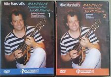 2 Dvd's-Mike Marshall's Mandolin Fundamentals for All Players-Vol 1 & 2