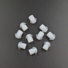 10x Silicone Earbud Ear Bud for Motorola Midland ICOM Acoustic Tube Earpiece