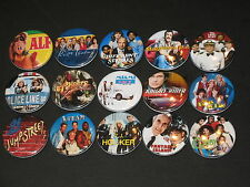 80's TV Shows Buttons/ Pins 15