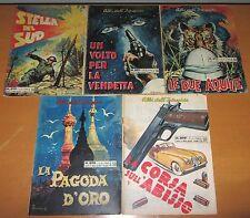 Lotto 5 numeri Albi dell'Intrepido  n. 890 / 899 - Anno 1963