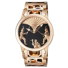 New Watchstar Swiss Made Automaton Samurai Rose Gold Tone Patented Soprad  Watch