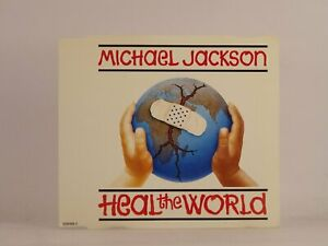 MICHAEL JACKSON HEAL THE WORLD (A6) 4 Track CD Single Picture Sleeve EPIC