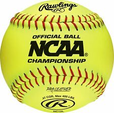 "Rawlings 12"" NCAA Official Fastpitch Softball (Dozen)"