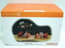 Dept 56 Halloween Battery Op. Haunted Front Yard Mib