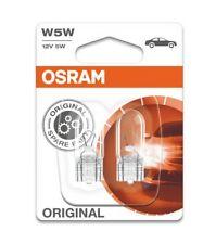 OSRAM 2825-02B W5W 12V 5W Lampen Doppelblister Standlicht Kennzeichen Innenlicht