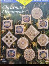 Teresa Wentzler Rare CHRISTMAS ORNAMENTS Cross Stitch Chart OOP 18 Designs