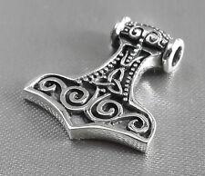 Free necklace Mjolnir Mjölnir Thor's hammer viking vikinger 925 silver pendant