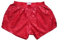 Red Shiny Nylon Shorts by Soffe - Size XL