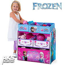 Frozen Princess Kids Toy Organizer Bin Children's Storage Box Bedroom Play Gift