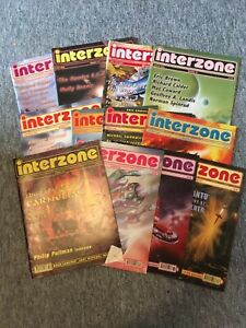 Interzone Magazine Collection 12 Used Issues #'s 161,163,169,170,171,174, Etc.