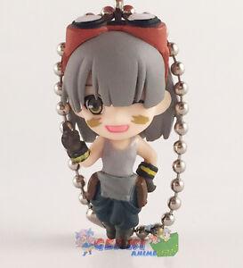God Eater Swing Mascot PVC Keychain SD Figure ~ Rikka Licca Kusunoki @97212