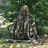 3D Camouflage Leaf Clothing Hunting Camo Coverall Sniper Archery Ghillie Suit CS