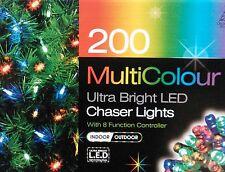 200 ultra luminosa a LED Chaser LUCI NATALE LUCI ESTERNO INTERNO LUCI DI NATALE