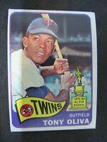 1965 TOPPS TONY OLIVA MINNESOTA TWINS CARD #340 VG