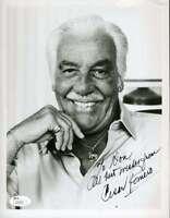 Cesar Romero Jsa Coa Autograph 8x10 Hand Signed Photo Authenticated
