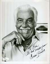 CESAR ROMERO JSA COA AUTOGRAPH 8X10 HAND SIGNED PHOTO AUTHENTICATED